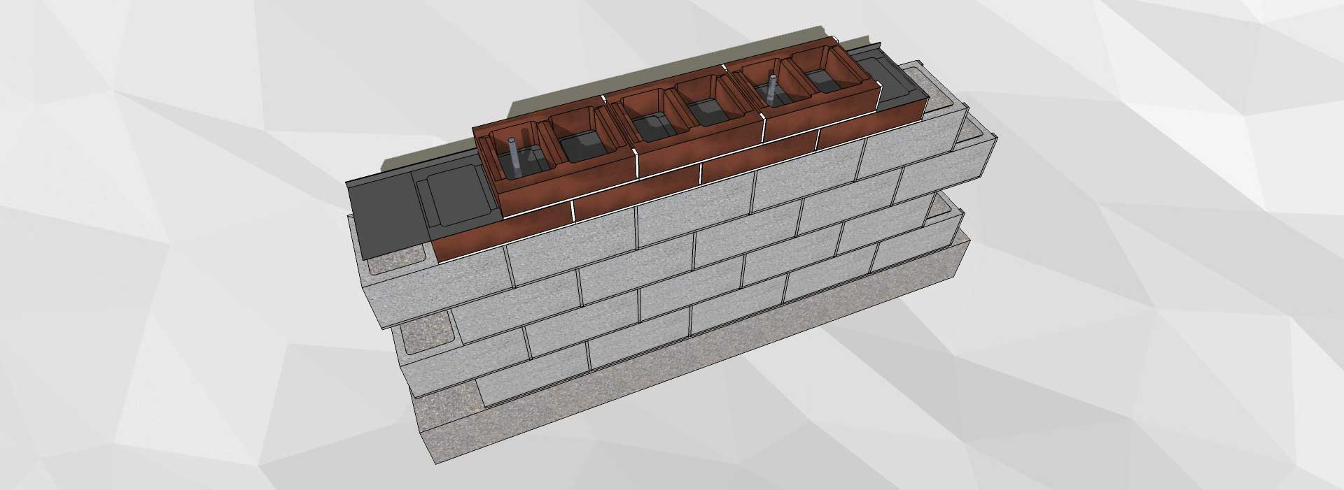Water control technology for Superior wall system